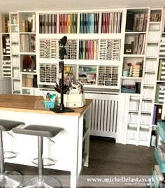 Share What You Love Suite - Stampin' Up! UK Top Demonstrator Craft Room Tour with Michelle Last Craft Room Organisation, Scrapbook Room Organization, Craft Room Storage, Scrapbook Rooms, Organization Ideas, Scrapbooking, Space Crafts, Home Crafts, Craft Space