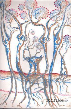 Photo 6 of 12 in Spirit Trees Creative Artwork, Trees, Spirit, Creative Art, Tree Structure, Plant