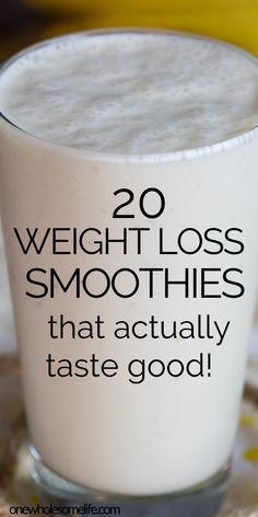 Best smoothies for weight loss. Healthy smoothies that are perfect for your weight loss plan. Green smoothies with spirulina, healthy strawberry banana smoothies, fat burning recipes, and full of nutrients to help you slim down and lose weight. Weight Loss Meals, Weight Loss Drinks, Weight Loss Smoothies, Easy Weight Loss, Healthy Weight Loss, How To Lose Weight Fast, Healthy Breakfast Recipes For Weight Loss, Healthy Breakfast Smoothies, Fat Burning Smoothies