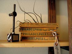 Set of 4 Vintage Philadelphia Cream Cheese Boxes by appetitehome, $39.00