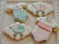 Celebrating Sweet Newborn Girl | Cookie Connection