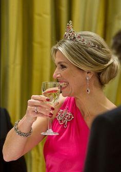 Queen Maxima & King Willem-Alexander visit Canada - Banquet