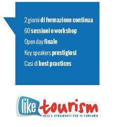 A #liketourism parleremo di..