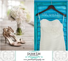 Naples Beach Hotel | Naples Wedding Photographer | Jamie Lee Photography | Bride Getting Ready | Nude High Heels | Personalized Name Hanger