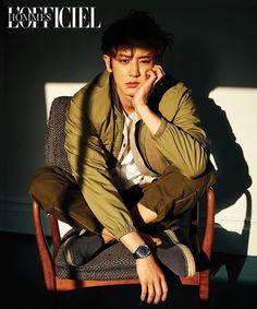 #Chanyeol L'OFFICIEL HOMMES #handsome #cool #yooyoungkyu #チャニョル #灿烈 #朴灿烈 #찬열 #박찬열 #pcy #parkchanyel #exo #model #얼굴_자랑대회 #チャンヨル