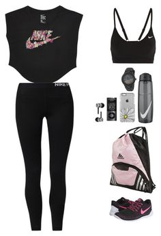 """gym addict"" by elieselissa13 on Polyvore featuring NIKE, Beats by Dr. Dre and adidas"