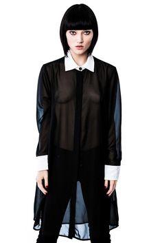 Wednesday Shirt Dress [B]
