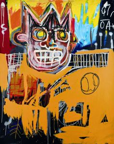 View Orange sports figure by Jean-Michel Basquiat on artnet. Browse upcoming and past auction lots by Jean-Michel Basquiat. Jm Basquiat, Jean Michel Basquiat Art, Basquiat Tattoo, Andy Warhol, Pablo Picasso, Keith Haring, Basquiat Paintings, Art Paintings, Guggenheim Bilbao