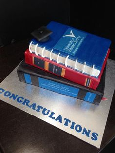 There's nothing better than cake when giving out congratulations. :)   http://amayzingcakes.com.au/