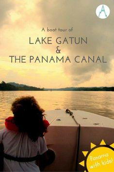 Panama with kids: A boat tour of Lake Gatun and the Panama Canal via @farflunglands