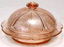 Pattern:Cherry Blossom Depression Glass Manufacturer: Jeannette Glass Company