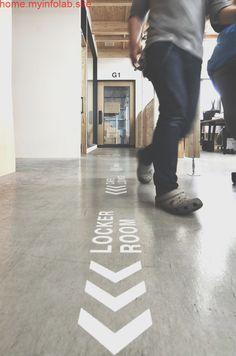 Floor Signage, Directional Signage, Wayfinding Signage, Signage Design, Gym Design, Floor Design, Retail Design, Environmental Graphic Design, Environmental Graphics