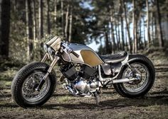 "Old Empire MC's ""Bulldog""  Build on a 1998 Yamaha Virago XV535"