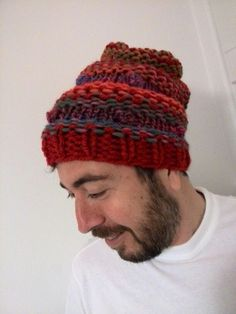 My wife s handmade perfect beanie !