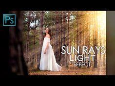 Sun Rays Light Effect - How to Create Sun Rays Light Effect In Photoshop - Photoshop Tutorial - YouTube