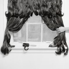 Rebecca Drolen's Photographs Of Hair Explore Death And Femininity In Striking New Ways