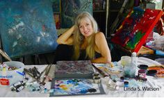 Interview With Artist Linda S. Watson With Advice to Artists