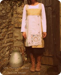 I just LOVE this dress made by Hettie Brown!