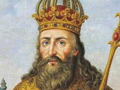Charlemagne, (King of France.)  Pinned it from History channel because they have videos on him too! Oh and wikipedia also has some interesting feedback on him: http://en.wikipedia.org/wiki/Charlemagne