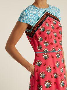 Click here to buy Mary Katrantzou Osmond Kings-print crepe dress at MATCHESFASHION.COM