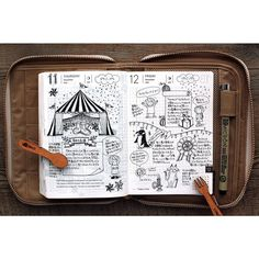 If I could draw I would strive to have a journal like thism