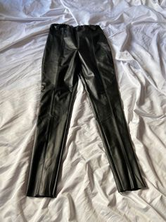 Leather Skinny Trousers, Online Thrift, Black Faux Leather, Good Old, Slow Fashion, Ankle Length, Boohoo, Boutique, Clothes