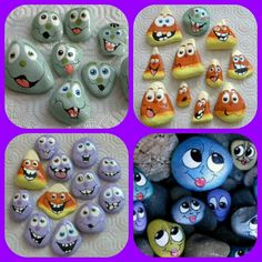 Painted Rocks too cute!!