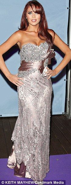 TOWIE phenomenon Amy Childs at a TV awards ceremony,