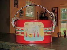#cricutimagine silverware caddy