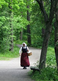 Swedish Traditional costume, Skansen | Flickr - Photo Sharing!