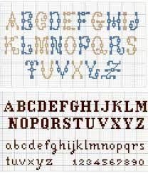 Znalezione obrazy dla zapytania script alphabet for X stitch