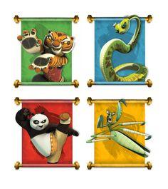 Amanda Makes Things: Design Work: Kung Fu Panda Showsite