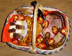 Pascha basket-- a great description from a Greek Orthodox Church