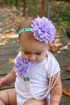 ON SALE baby toddler kids child lavender by AdoraBowsByLeilaHale