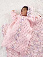 Baby Girl Crochet Bunting   AllFreeCrochet.com