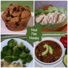 Meal Plan Monday: Breakfast, Lunch and Dinner
