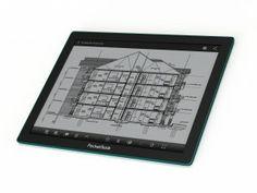 PocketBook CAD Reader: dispositivo Android de tinta electrónica para leer dibujos de Autocad