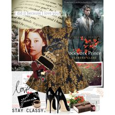 """""""Book Review: Clockwork Prince by Cassandra Clare"""" by bittersweet89 on Polyvore"""