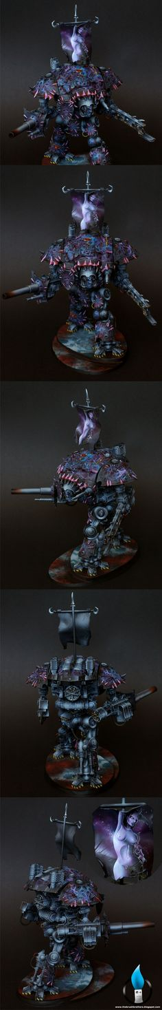 40k - Chaos Knight by loler