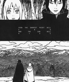 Viajaron juntos bastante tiempo. #Sasusaku