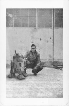 If Star Wars Were Real: Pearl Harbor Naval Shipman with R2 Astromech