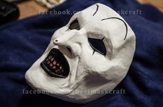 inspired Terrifier all hallows eve art the clown mask cosplay movie horror