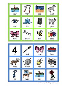 Final Consonant Deletion-Bingo Board Game-Minimal Pairs Cards. From Adventures in Speech Pathology.