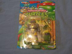 NIB Teenage Mutant Ninja Turtles Super Saint Playmates Takara 1995 Japan New Box