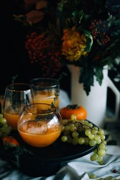 smoked thyme fall rye sour // craftandcocktails.co for Sfgirlbybay