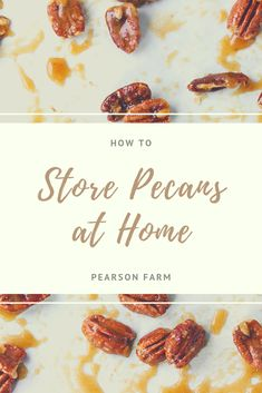Pecans they can help your body nutritionally in so many ways. Here are a few tips for how to store pecans at home to make them last for all your snacks, pecan recipes and baking adventures. Georgia Pecans, Candied Pecans, Pecan Recipes, Nut Free, Nutrition Tips, Sweet Treats, Healthy Eating, Peach, Snacks