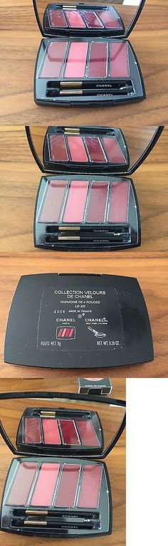 Other Lip Makeup: Chanel Collection Velours De Chanel Harmonies De 4 Rouges Lip Kit Bnwob -> BUY IT NOW ONLY: $59.99 on eBay!
