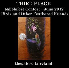 Nibblefest Art Contest: Winners for June 2012 - Birds and Other Feathered Friends