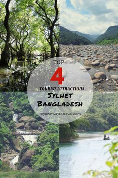 4 Top Tourist Attractions in Sylhet, Bangladesh - There are many tourist spots in Sylhet. But among many places, I found the below 4 are the most popular among tourists. And worth to visit and explore as well in Sylhet, Bangladesh. https://myownwaytotravel.com/tourist-attractions-in-sylhet-bangladesh/ #travelasia #bangladesh