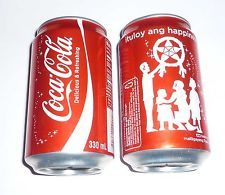 Coca Cola can PHILIPPINES Collectors Can Christmas 2012 Ituloy Ang Happiness